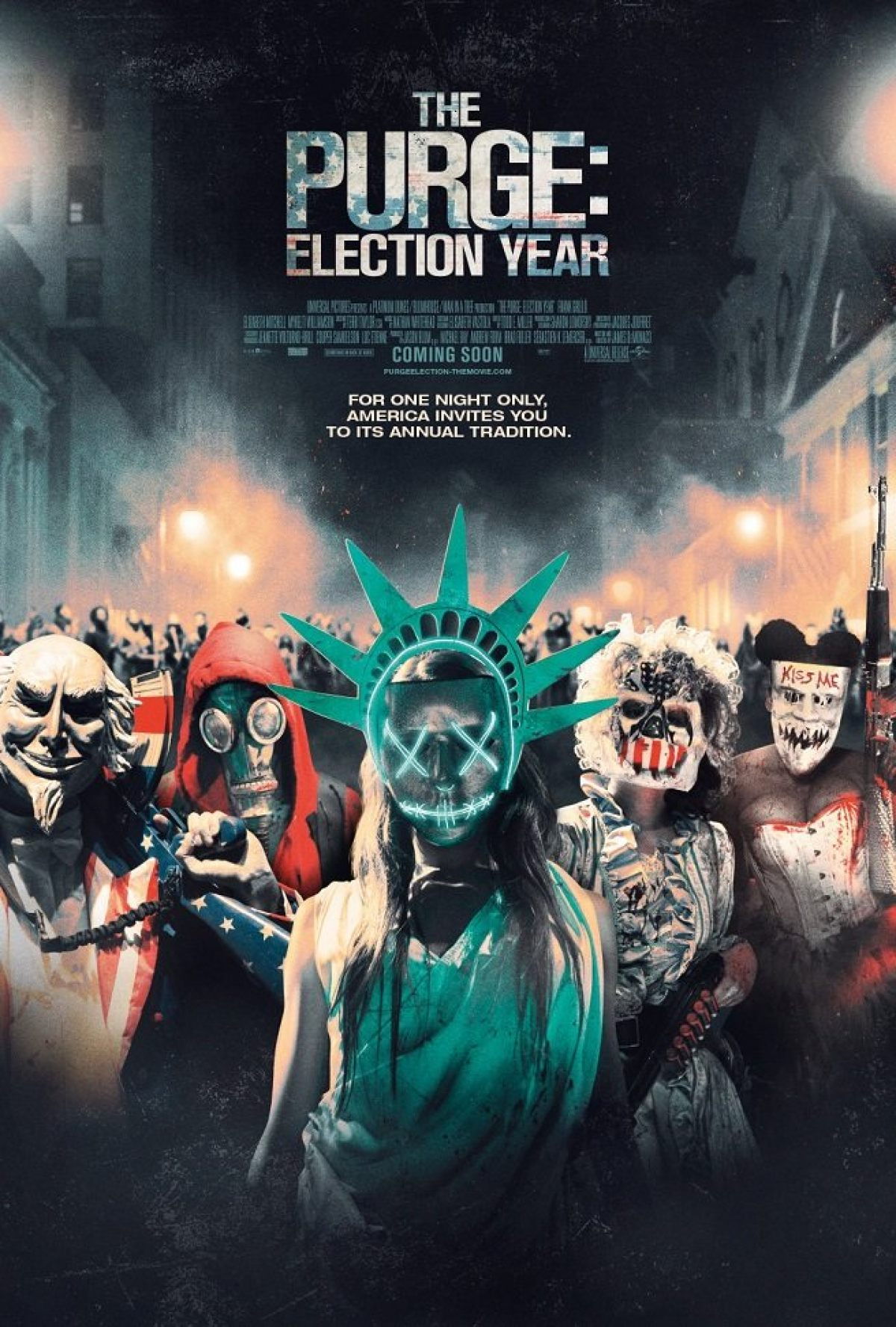 THE PURGE: ELECTION YEAR Finds An Interesting New Approach To ...