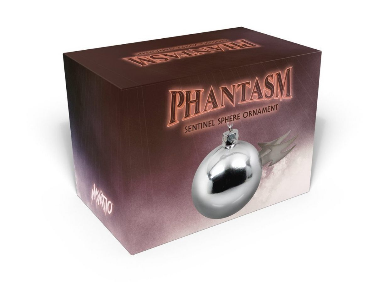 Have A Very Phantasm Christmas With This Sentinel Sphere Ornament